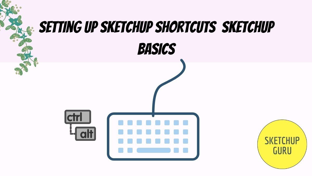 Setting Up Sketchup Shortcuts | Sketchup Basics | Sketchupguru